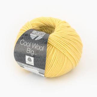 Cool Wool Big von Lana Grossa - % Angebot %, Hellgelb