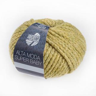 Alta Moda Super Baby von Lana Grossa - % Angebot %, Senf meliert