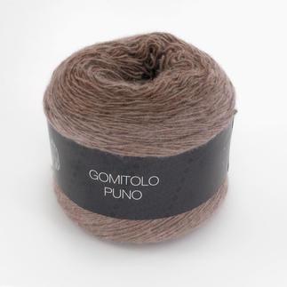 Gomitolo Puno von Lana Grossa - % Angebot %, Grau/Nussbraun