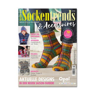 Heft - Sockentrends und Accessoires 51/2018