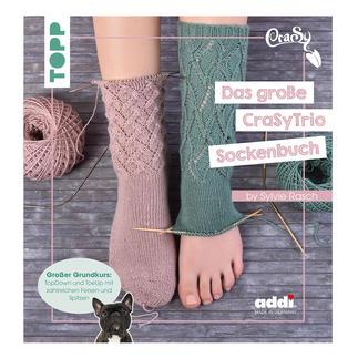Buch - Das grosse CraSyTrio-Sockenbuch CraSy eaSyness: Das grosse CraSyTrio-Sockenbuch.