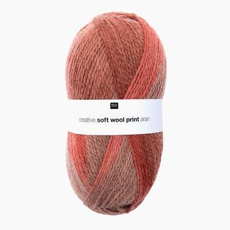 Creative Soft Wool Print Aran von Rico Design