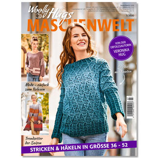 Heft - Woolly Hugs Maschenwelt 07/20