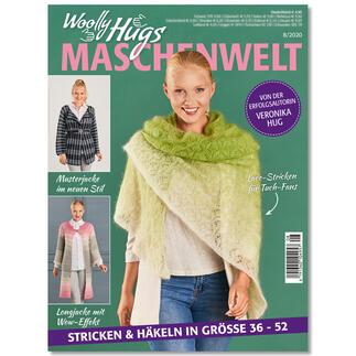 Heft - Woolly Hugs Maschenwelt 08/20