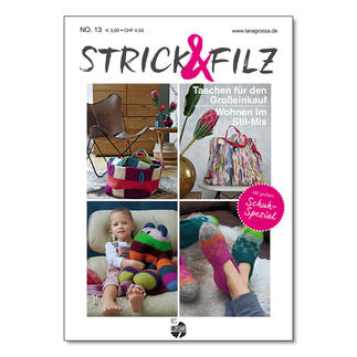 Heft - Strick & Filz No. 13