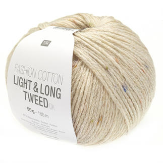 Fashion Cotton Light & Long Tweed DK von Rico Design