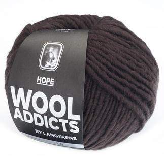 Hope von WOOLADDICTS by Lang Yarns, 67 Dunkelbraun