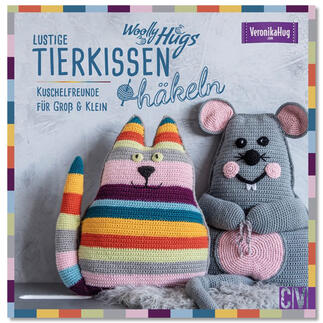 Buch - Woolly Hugs Lustige Tierkissen häkeln