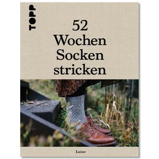 Buch - 52 Wochen Socken stricken