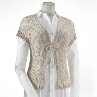 Anleitung 605/2, Damenweste aus Bandana von Junghans-Wolle