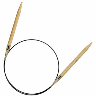 Prym Rundstricknadeln aus Bambus, 80 cm Länge