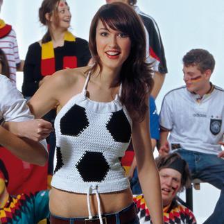 Anleitung 828/5, Fussball-Top aus Catania Grande von Schachenmayr smc