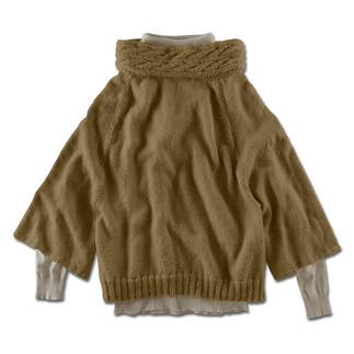 Anleitung 278/3, Cape-Pullover aus Peru von Junghans-Wolle