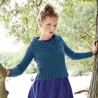Anleitung 205/3, Pullover aus Topas von ggh, Modell aus Rebecca Heft 52