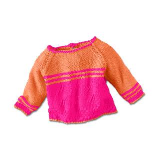Anleitung 444/5, Pullover aus Cotton-Superfine II von Junghans-Wolle
