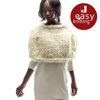 Anleitung 375/6, Cape aus Miss Wool von Schoppel Wolle