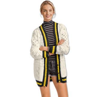Anleitung 005/7, Damenjacke aus Cotonara von Junghans-Wolle