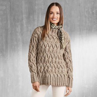 Anleitung 153/7, Damen Pullover aus Alpaca-Cotton von Junghans-Wolle