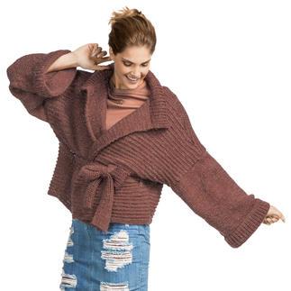 Anleitung 166/7, Damen Kimono-Jacke aus Valderamo von Junghans-Wolle