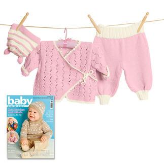 Anleitung 167/7, Baby Jacke, Hose & Mütze aus Merino Supersoft von Junghans-Wolle