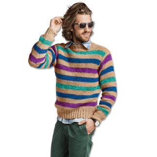 Anleitung 264/7, Herren Pullover, 2-fädig aus Merino-Supersoft von Junghans-Wolle