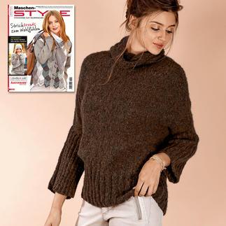 Anleitung 274/7, Pullover aus Alpaca Tweed von Schoeller+Stahl Anleitung 274/7, Pullover aus Alpaca Tweed von Schoeller+Stahl