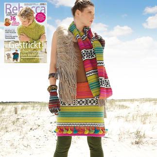 Anleitung 322/7, Rock & Loop aus Baby Alpaka von ggh, Modell aus Rebecca Heft Nr. 67