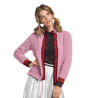 Anleitung 380/7, Damenjacke aus Aspra und Aparta-Nova von Junghans-Wolle