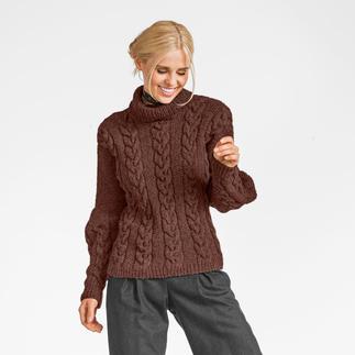 Anleitung 405/7, Damen Pullover aus Flip von Junghans-Wolle