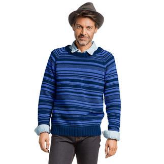 Anleitung 419/7, Herrenpullover aus Merino-Cotton von Junghans-Wolle