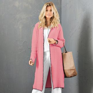 Anleitung 420/7, Damen Mantel aus Merino-Cotton von Junghans-Wolle