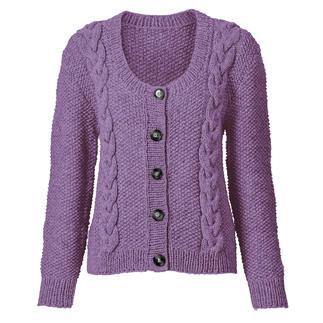 Anleitung 424/7, Damen Jacke aus Landwolle von Junghans-Wolle