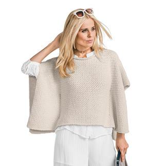 Anleitung 428/7, Damen-Cape aus Bandana Wool von Junghans-Wolle