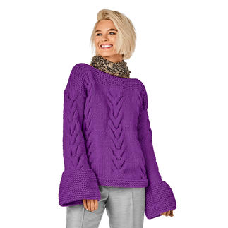 Anleitung 111/8, Pullover aus Merino Dick von Junghans-Wolle