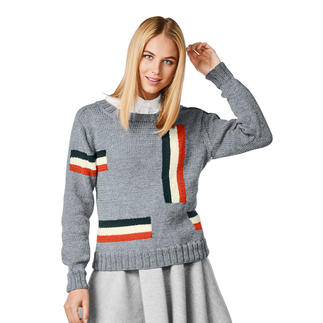 Anleitung 131/8, Pullover aus Merino-Extrafein von Junghans-Wolle
