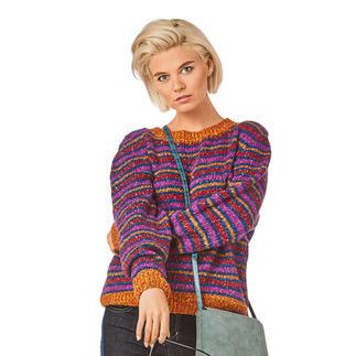 Anleitung 146/8, Damen Pullover aus Ofelia von Junghans-Wolle