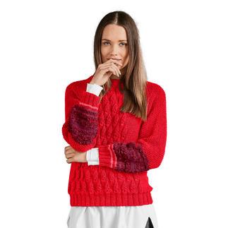 Anleitung 152/8, Pullover aus Peru und Pellini von Junghans-Wolle