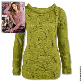 Anleitung 167/8, Pullover aus Aspra von Junghans-Wolle