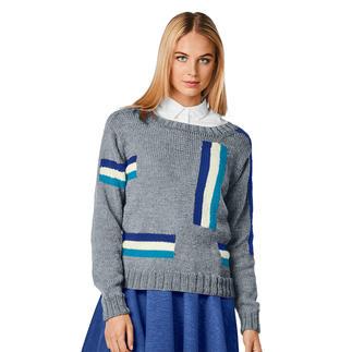 Anleitung 389/8, Pullover aus Merino-Extrafein von Junghans-Wolle