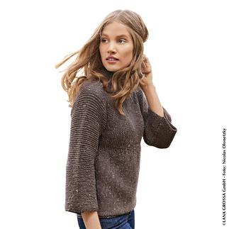 Anleitung 415/8, Pullover aus Slow Wool Canapa von Lana Grossa