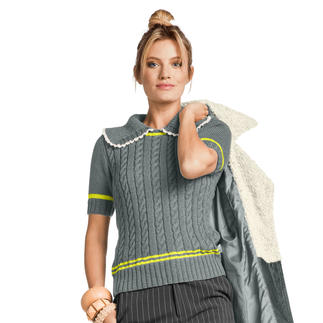 Anleitung 422/8, Damenpulli, 2-fädig aus Seidana® von Junghans-Wolle