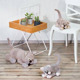 Anleitung 014/9, Grosse Katze & zwei Katzenbabys aus Pinta, Feelana und Seidana® von Junghans-Wolle
