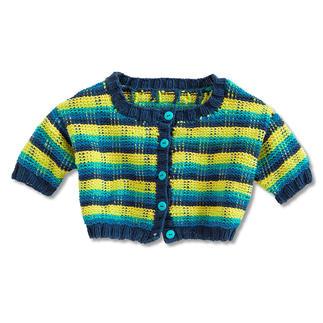 Anleitung 036/9, Babyjacke aus Cotonia II von Junghans-Wolle