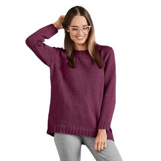 Anleitung 066/9, Damenpullover aus Merino-Cotton von Junghans-Wolle