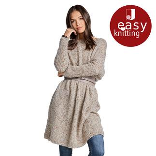 Anleitung 131/9, Oversize-Pullover aus Träumerei® von Junghans-Wolle