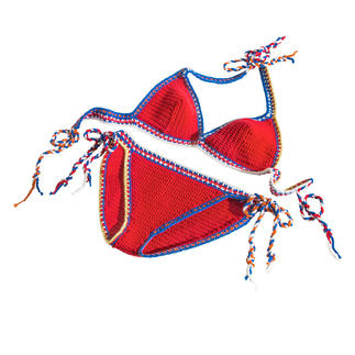 Anleitung 205/9, Bikini aus Cotonara von Junghans-Wolle