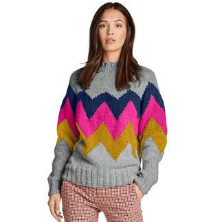 Anleitung 211/9, Pullover aus Monello-90 Uni von Junghans-Wolle