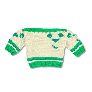 Anleitung 263/9, Baby-Pulli aus Cotonara von Junghans-Wolle
