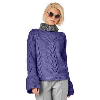 Anleitung 379/9, Pullover aus Merino Dick von Junghans-Wolle
