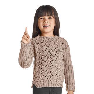Anleitung 398/9, Kinder-Pulli aus Merino-Extrafein von Junghans-Wolle